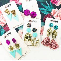 Little Redhead - lasercut earrings and jewelry